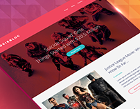Free Movie Theme Sketch + CSS