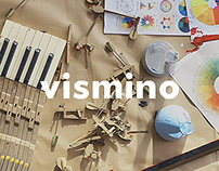 """vismino"" wines - designed by colors of music"