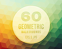 60 Geometric vector backgrounds