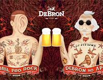 Copo DeBron no Abril Pro Rock 2016