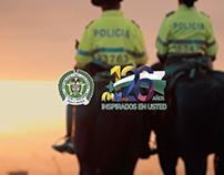 Policía Nacional de Colombia / Comerciales