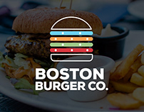 Boston Burger Co. Branding