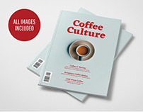 COFFEE CULTURE MAGAZINE TEMPLATE