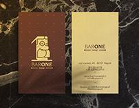 Bar One — Brand Identity