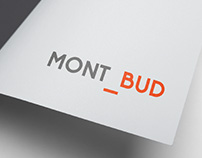 MONT-BUD - building construction - Branding