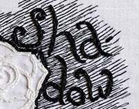 Sewn Lettering