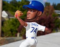 Dodgers Bobblehead Kenley Jansen