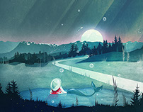 A Mermaid's Dream | Digital Art