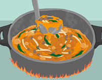 when recipe moves-Pumpkin curry for picky eater
