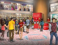 Print Comps for Coca-Cola's Share a Coke Campaign.