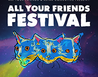 All Your Friends Festival Poster