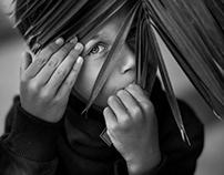 Kids Black and White Portraiture