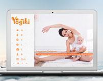 Yoga for Kids Website Design