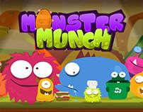 """Monster Munch"" - Kid's videogame concept design"