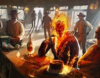 Ghost Rider - Illustration
