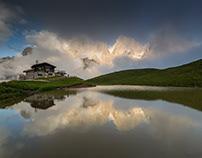 Dolomites. Water