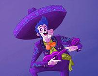 Character design challenge : Dia De Los Muertos
