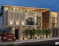 Villa Exterior Visualisation 02