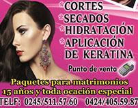 Publicidad peluquería mili