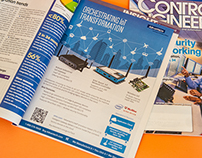 Printed ads for Advantech