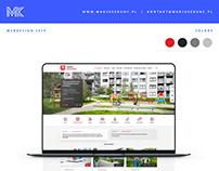 Informator gminny / webdesign / ui design