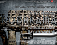Rudhramadevi Movie PranayTony Designed Movie Poster!