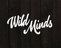 T-shirt graphics for WILD MINDS.