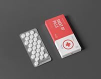 30+ Pills Box Packaging PSD Mockup Templates