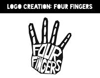 Logo Creation: Four Fingers