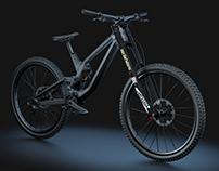 Modeling 3D - Downhill Bike (DH) Canyon Sender SF