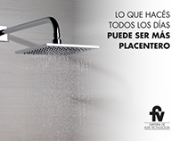 Folleto de duchas FV / Shower heads brochure