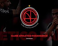 Redesign Identidade Visual Athletico Paranaense.