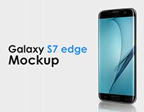 Smartphone Galaxy S7 Edge Mockup