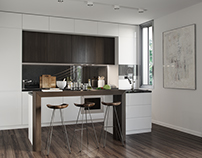 CG - White Kitchen