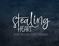 NEW FONT STEALING HEART