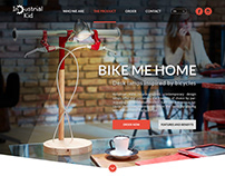 Design Product Landing Page