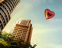 Ministry of Health Balloon // compositing + retouching