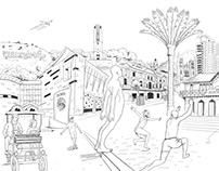 Deloitte Sharpie mural