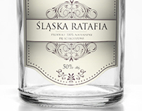 Hand made polish vodka- etiquette design