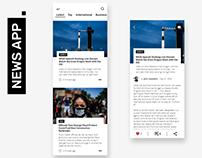 News. - news app