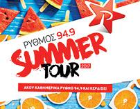 Rythmos 949   Summer Tour   social
