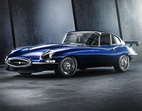 JAGUAR E-TYPE LUXURY RACE | CGI