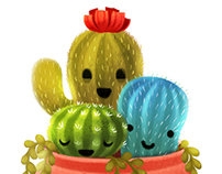 Cuddly cactuses
