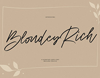 Blondey Rich Signature