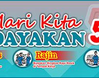#11 Banner 5S 5R Seiri Seiton Indonesia Free Download C