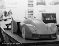 Porsche 927 (Clay model)