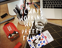 always working with pretty thing