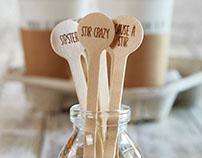 Sips Stir Sticks & Spoons