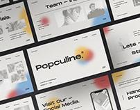 Popculine - Lookbook Fashion Multipurpose Template