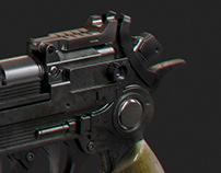 DX-13 blaster pistol